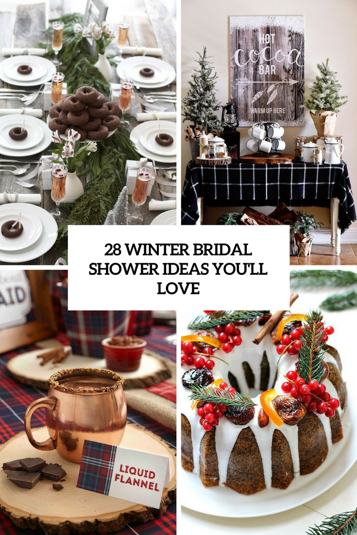 28 winter bridal shower decor ideas youll love