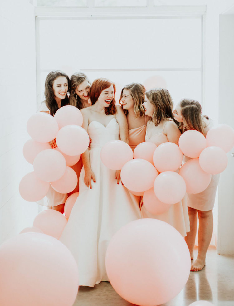Fun-Fueled Wedding With Touches Of Peachy Pink