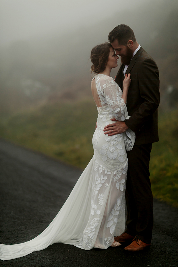 Luxe Moody Winter Wedding Shoot