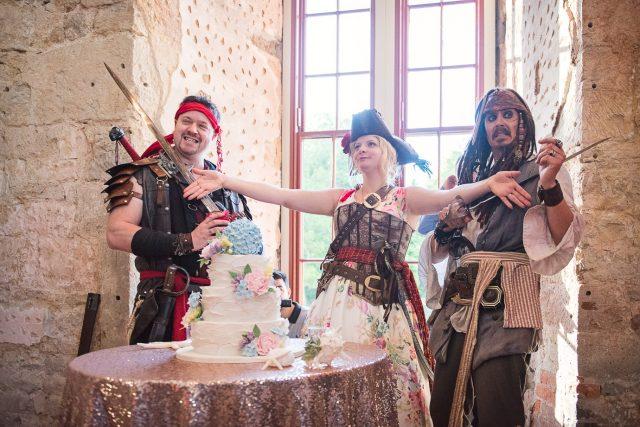Treasure Island And Pirate Wedding In A Castle