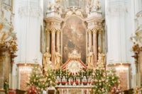06 The ceremony was magical and took place at St. Peter´s Abbey, one of Salzburg's most beautiful churches