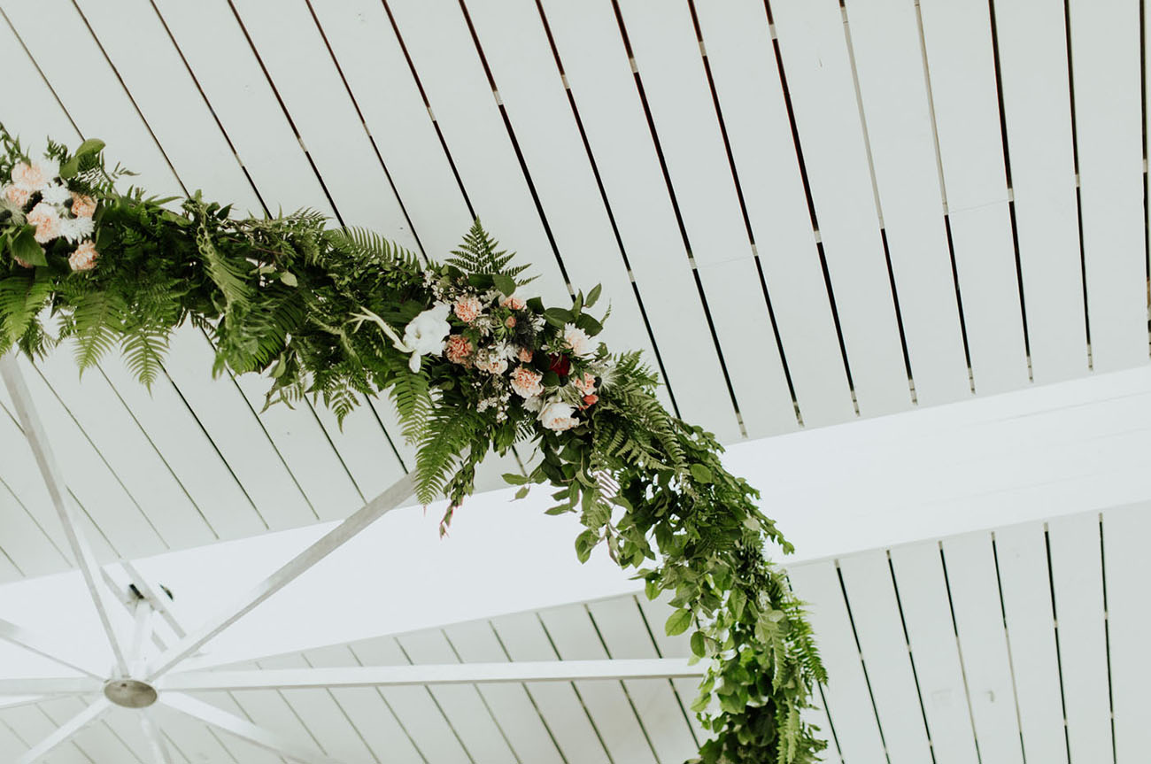gorgeous floral chandelier
