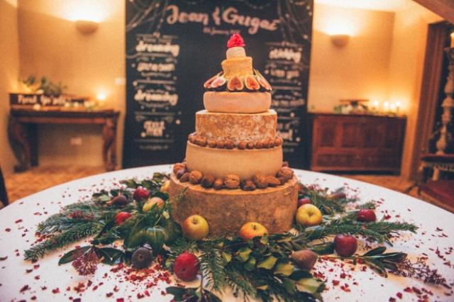 wedding cheese tower