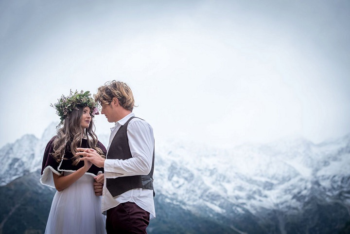 Italian Alps Wedding Shoot With Wildberries