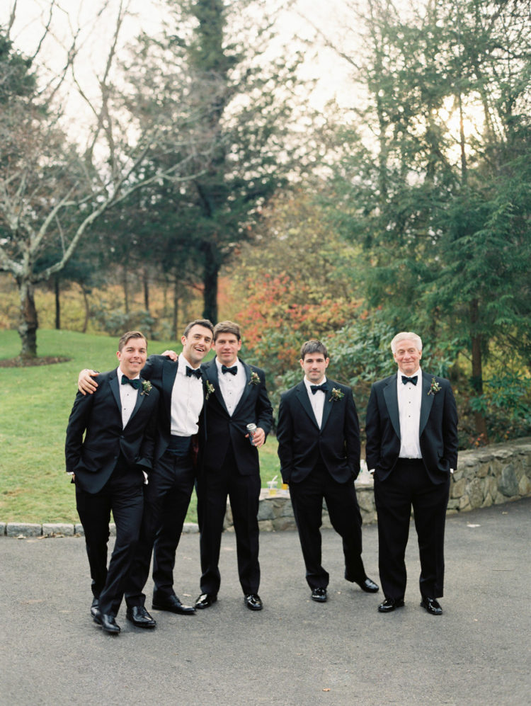 The groomsmen rocked the same looks as the groom