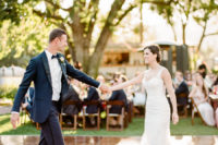 11 The wedding was filled with elegance and timeless chic