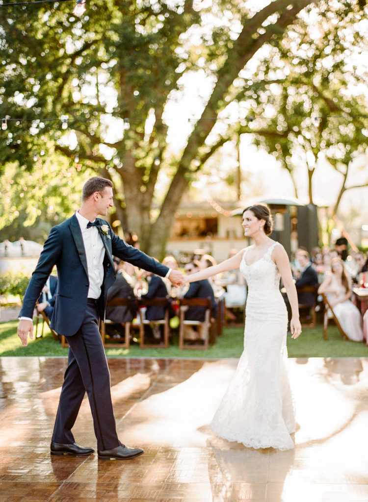 The wedding was filled with elegance and timeless chic