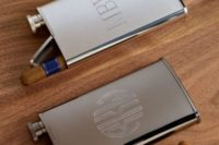 14 a stainless steel flask plus a cigar is a great idea – just add some tags to ask