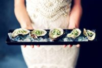 oyster wedding appetizers