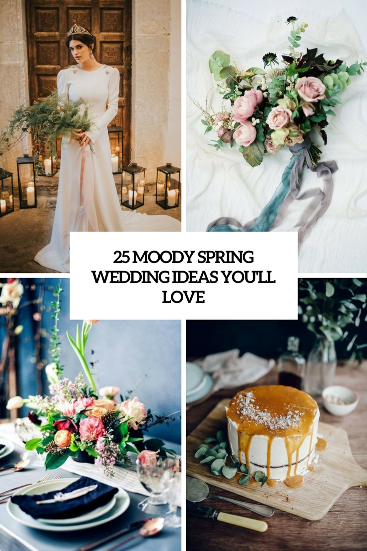 moody spring wedding ideas you'll love cover