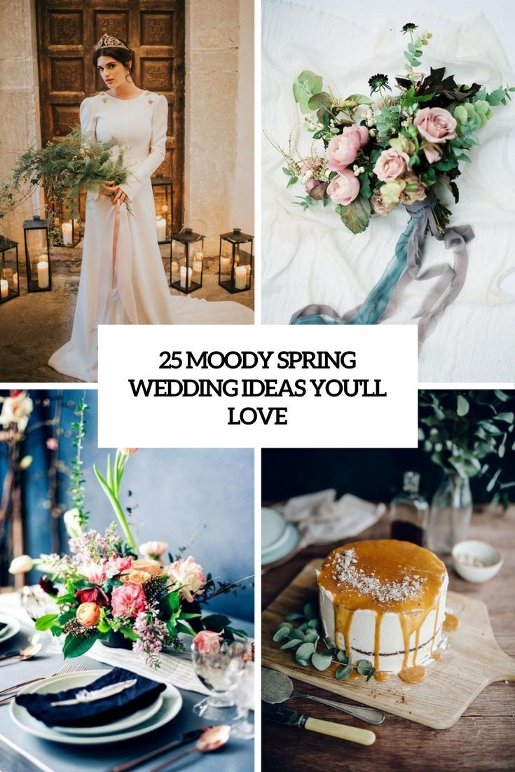 moody spring wedding ideas you'll love cover