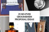 25 no-fuss groomsmen proposal ideas cover