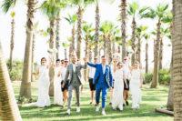 01 These dapper guys got married in a palm tree garden in Algarve, Portugal