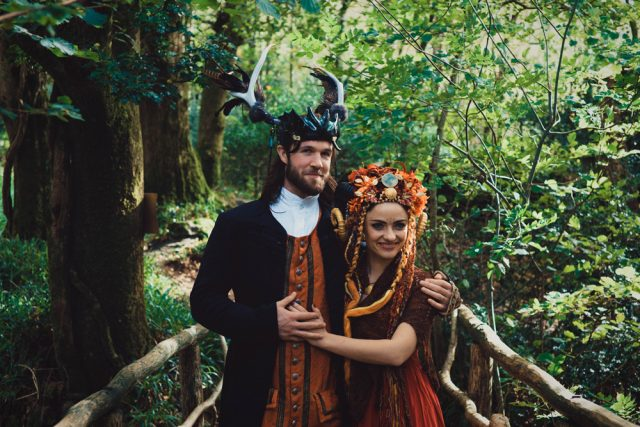 Pagan Wedding At A Medieval Hobbit Village
