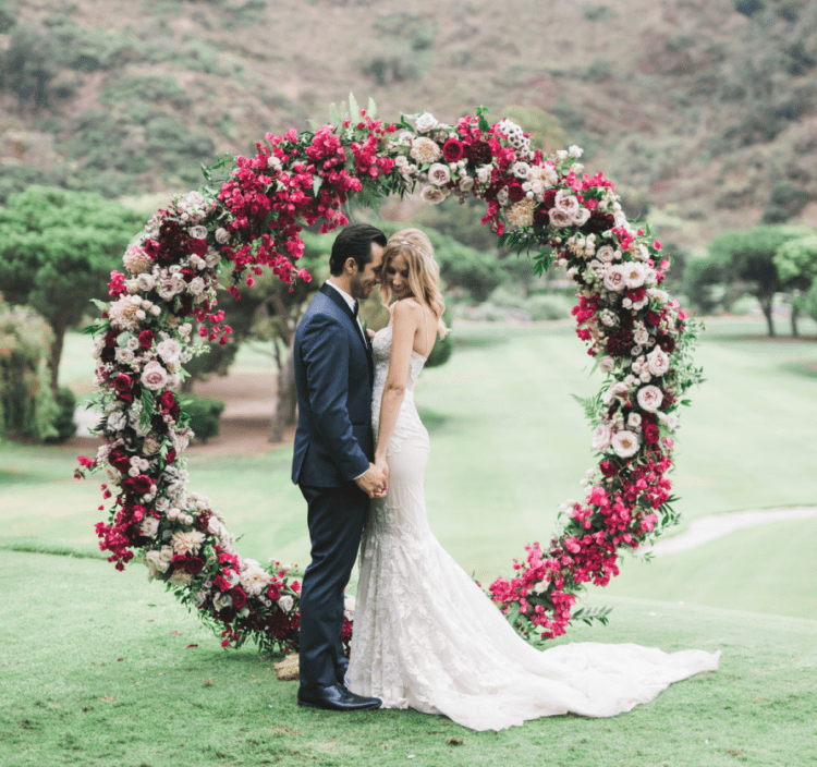 Jewel Tone Ranch Wedding With Edgy Touches