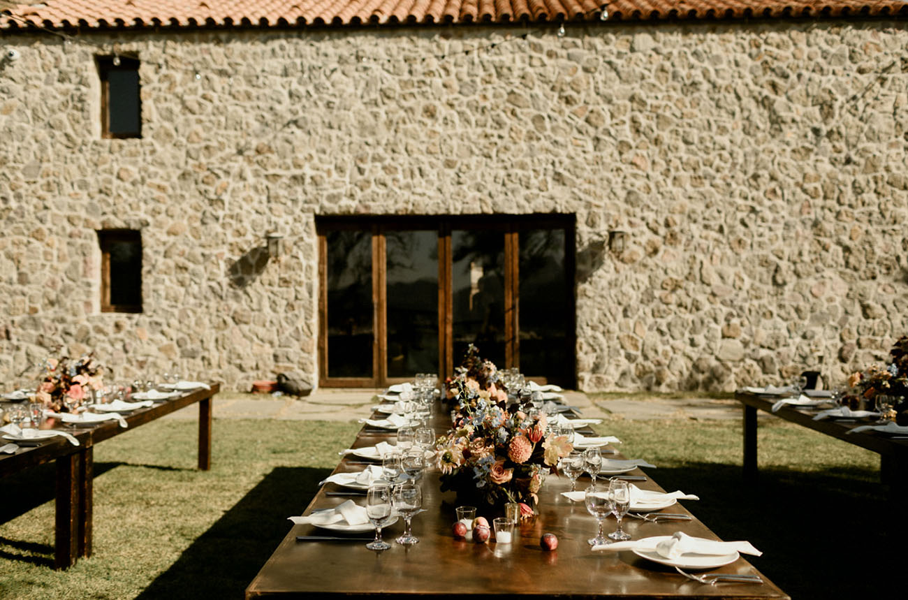 The winery itself looked like a Tuscany one, which was highly appreciated by the couple