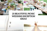 25 beautiful picnic wedding reception ideas cover