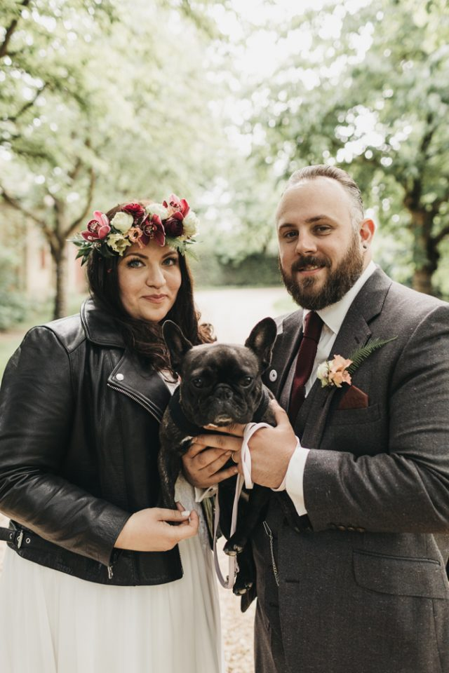 This couple decided to get married beforehand and to have a second ceremony in London