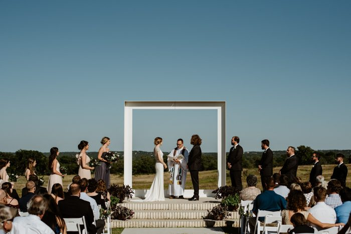 Minimalist Glam Wedding In Central Texas