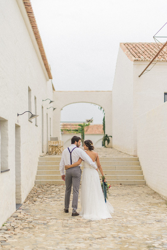 Portuguese Wedding Shoot In An Ancient Farm Village
