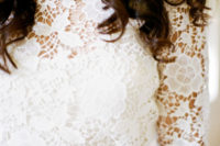 02 a heavily embellished gold belt makes the transition from the lace bodice and a ruffle skirt easier