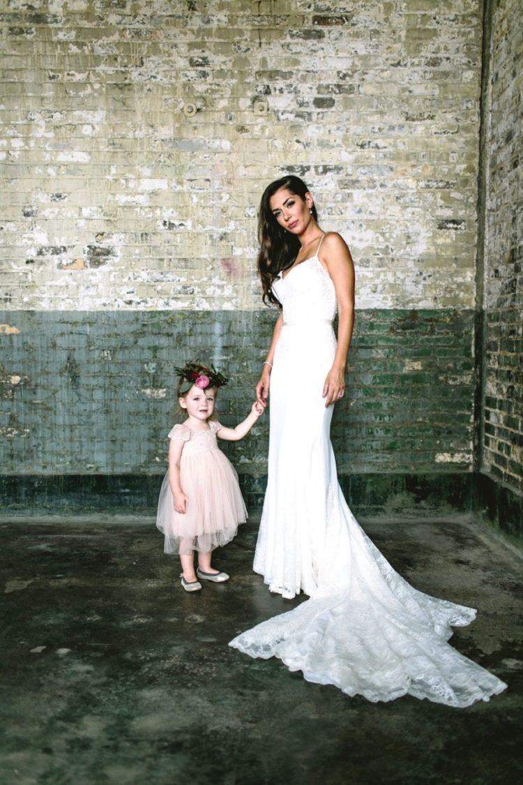 47ca9eb866a 26 Gorgeous Spaghetti Strap Wedding Dresses - Weddingomania