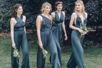 08 chic graphite grey convertible jumpsuits look very edgy and chic