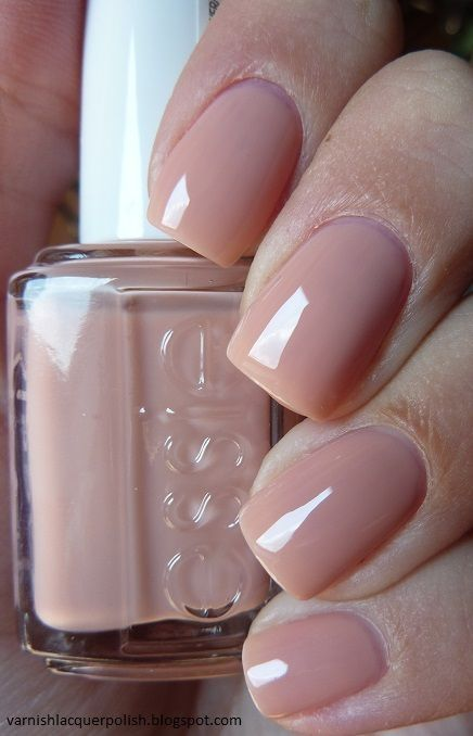 dusty pink nails are a chic option for those who are looking for nude manicures