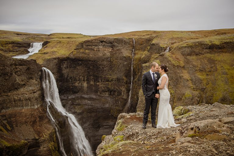 This couple decided to elope to Iceland for an unforgettable destination wedding