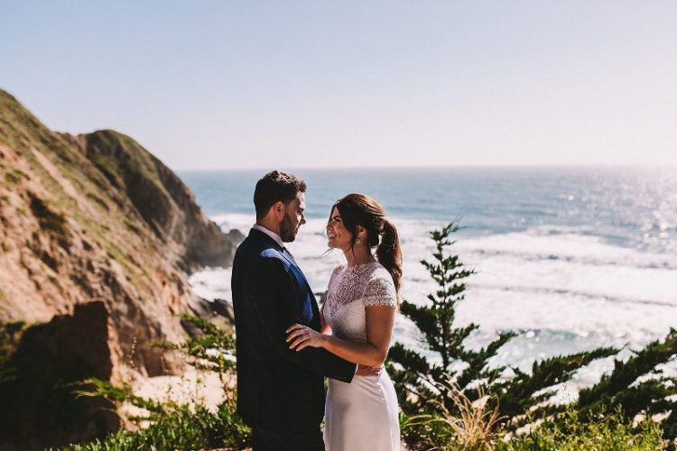 Intimate Casual Wedding On The Californian Coast