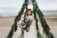 teepee wedding arch