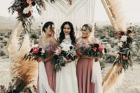 boho hairstyles for bridesmaids
