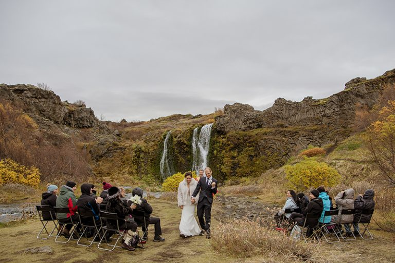 This is how Iceland looks in the fall, isn't it a beautiful wedding backdrop