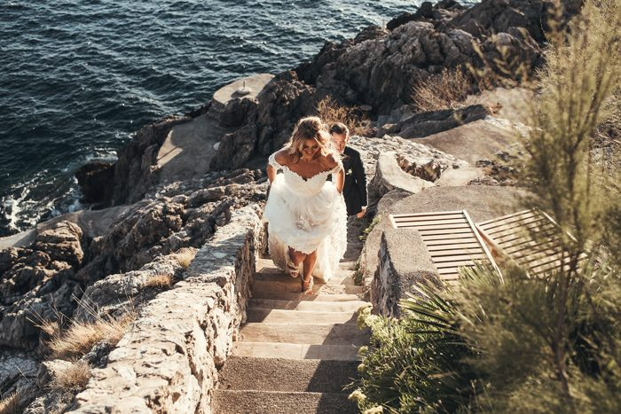 Amalfi coast is an amazing place to get married