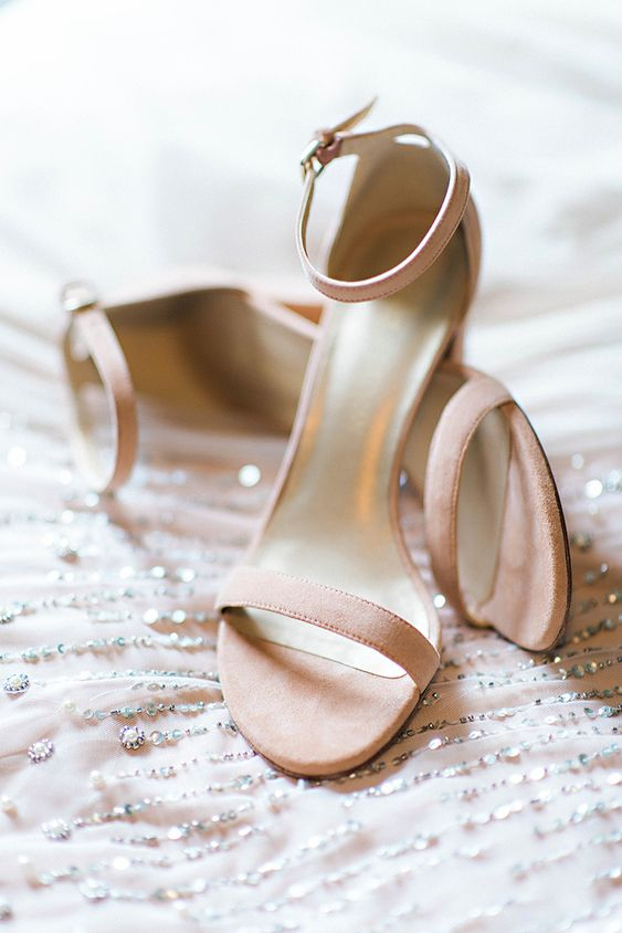 blush suede heeled sandals are a chic and functional choice and you may wear them after