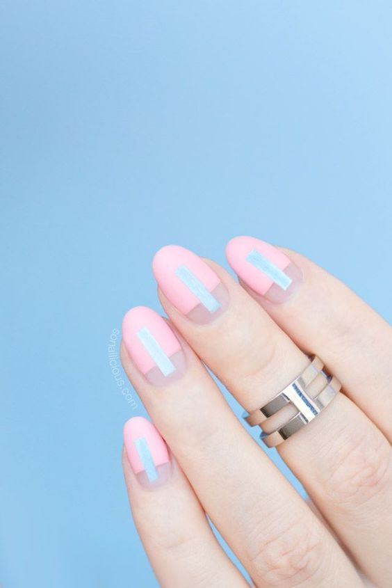Modern Nails Posts: 26 Cool Summer Wedding Manicure Ideas
