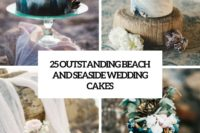 25 outstanding beach and seaside wedding cakes cover