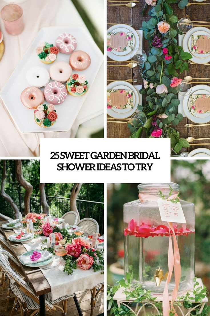 Sweet Garden Bridal Shower Ideas To Try Cover
