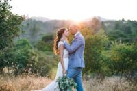 01 This rustic chic wedding was an outdoor one on a ranch and was filled with sunshine and beauty