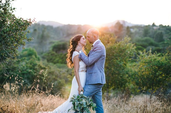 This rustic chic wedding was an outdoor one on a ranch and was filled with sunshine and beauty