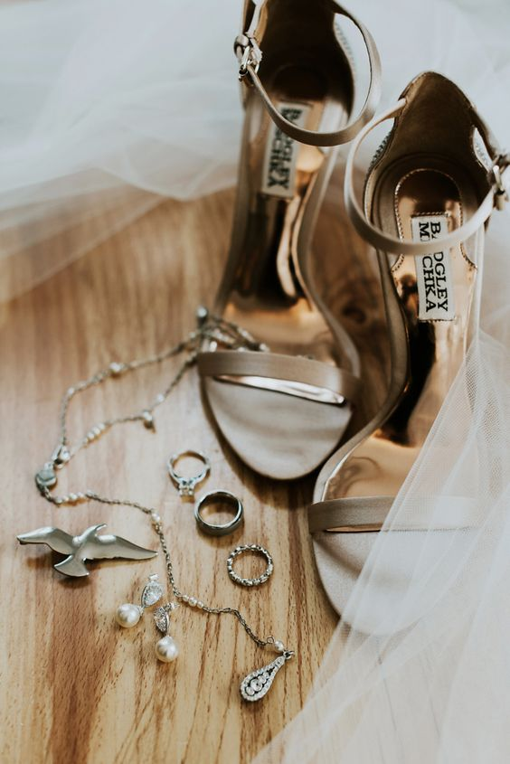 elegant taupe ankle strap wedding sandals for a chic and timeless look