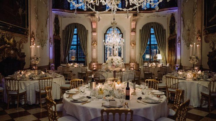 Gorgeous Salzburg restaurants were venues for the wedding
