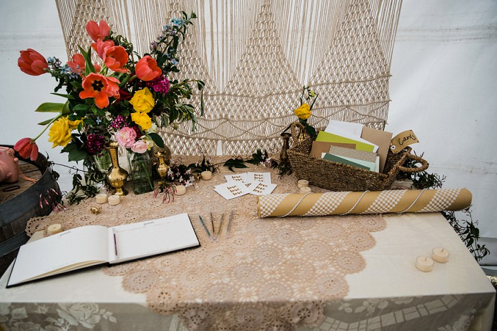 Most of decor was DIY to add a personal touch and save some money