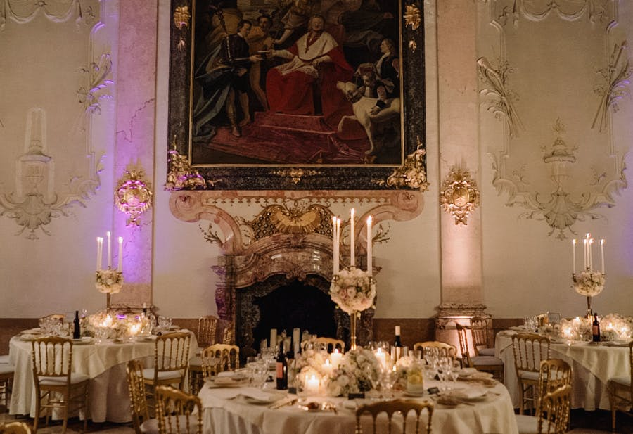 This is another restaurant venue of the wedding