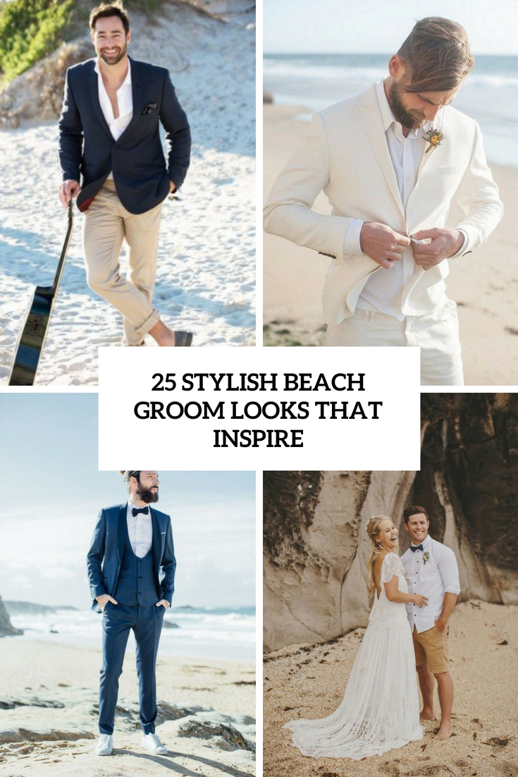 stylish beach groom looks that inspire cover