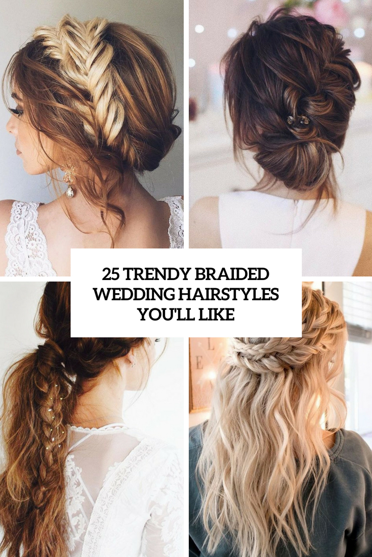 trendy braided wedding hairstyles you'll like cover