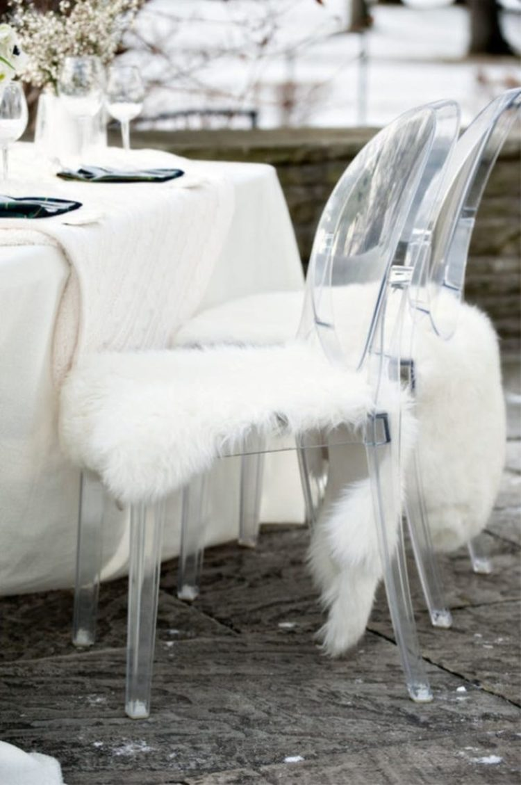 Rens Sheepskin Throws are what you need for a fall or winter wedding to keep the guests and yourself warm