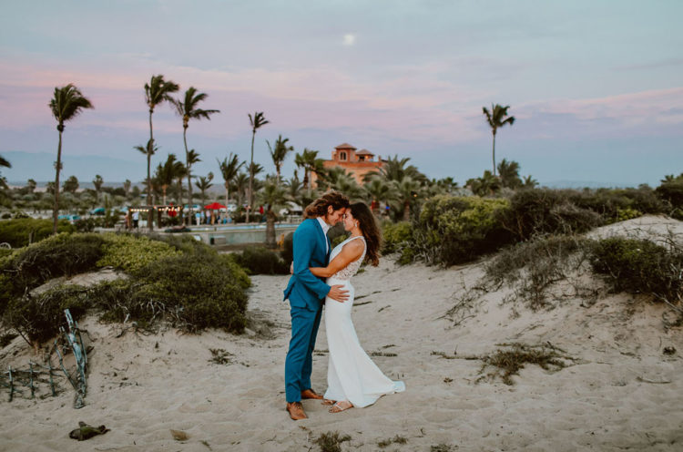 Eclectic Personalized Wedding On The Beach