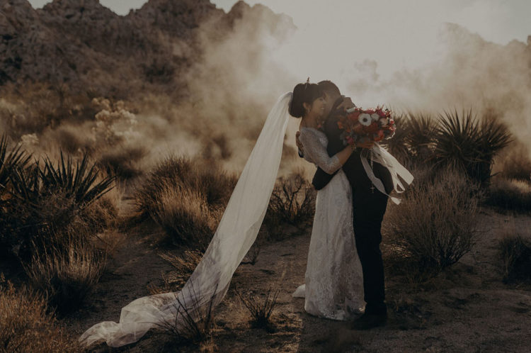 Moon-Inspired Desert Wedding In Joshua Tree
