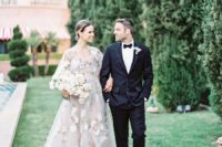 01 This super elegant and refined wedding shoot was inspired by Mediterranean touches, European architecture and art